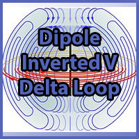 Dipole, Inverted V and Delta Loop
